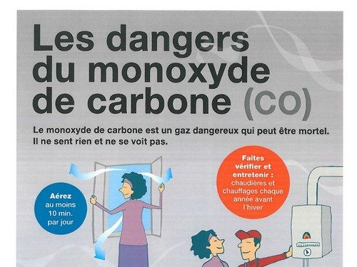 ARS : les dangers du monoxyde de carbone