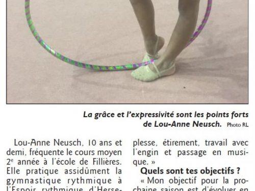 Lou-Anne, la perle herserangeoise