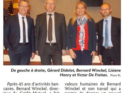 Départ en retraite de Bernard Winckel