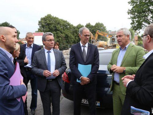 Les quartiers prioritaires en voie de transformation à Longwy et Herserange