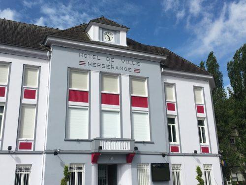 Travaux : Réfection de la façade de l'Hôtel de Ville
