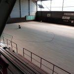 Travaux à la salle des sports