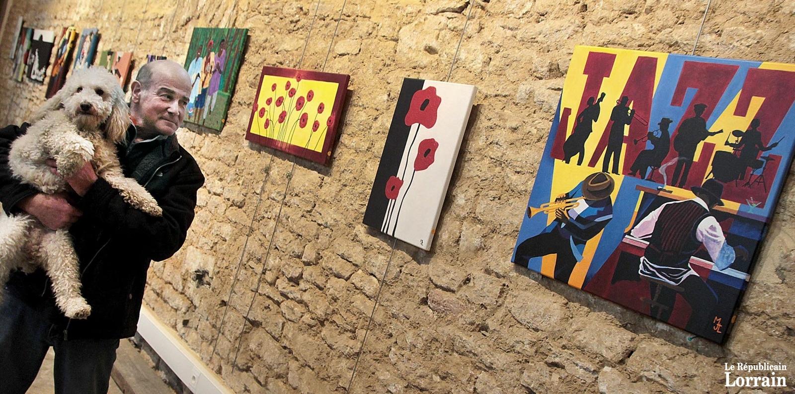 Exposition des œuvres de Jean-Louis Mazzucotelli au Puits de Siège