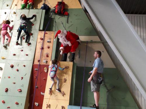 Le père Noël prend de la hauteur