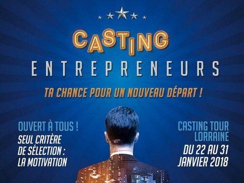 Casting Entrepreneurs : Ta chance pour un nouveau départ !