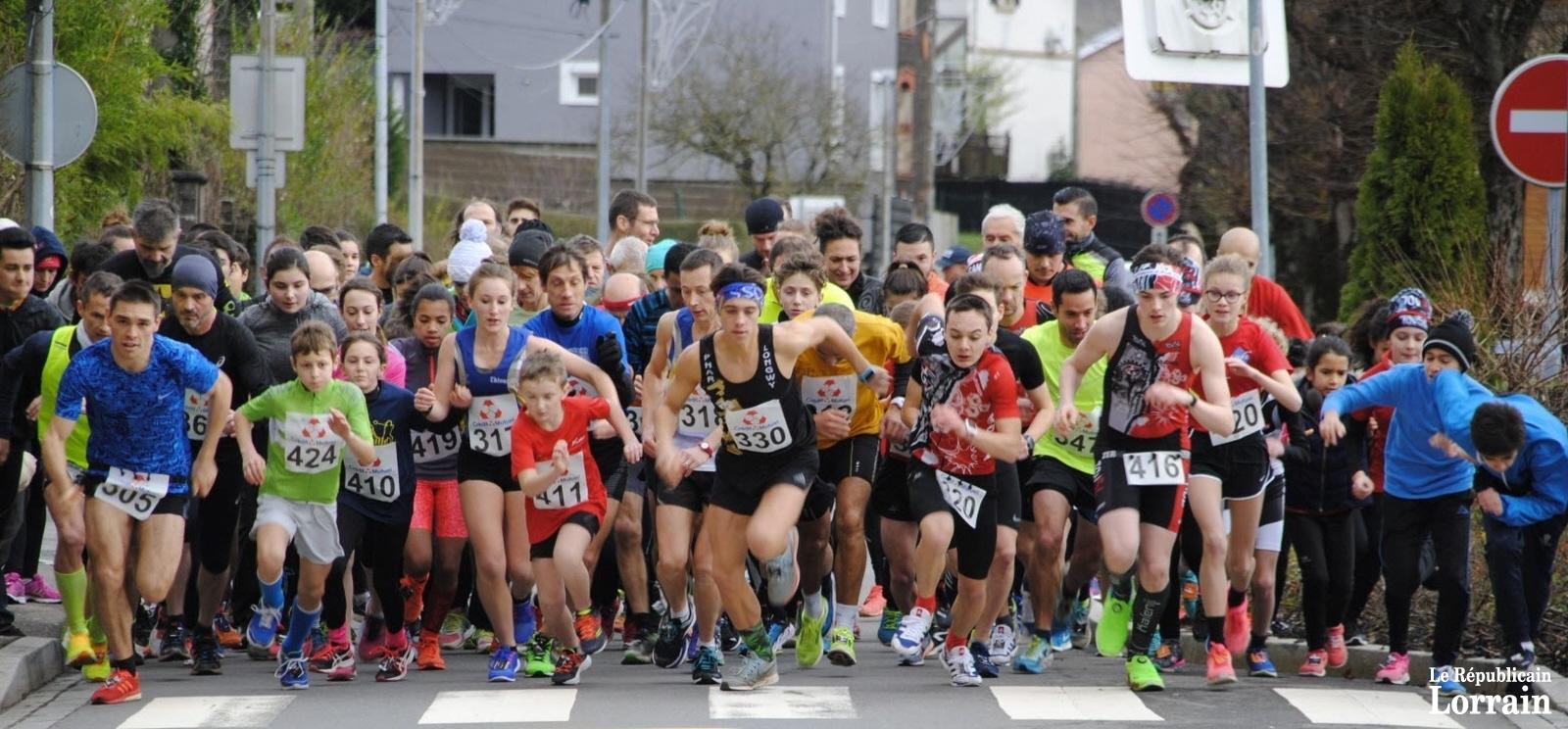 Herserange : la corrida pédestre de la Saint-Sylvstre fait le plein