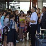 Les futurs élèves de 6e  briefés sur les bonnes pratiques dans le bus