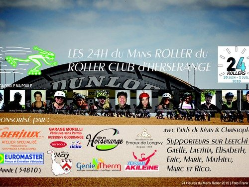 Roller club : interviews des participants aux 24h du Mans