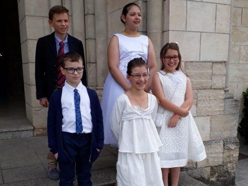 L'heure de la première communion