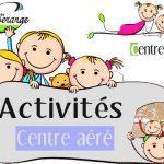 Activités centre aéré du 16 au 20 juillet