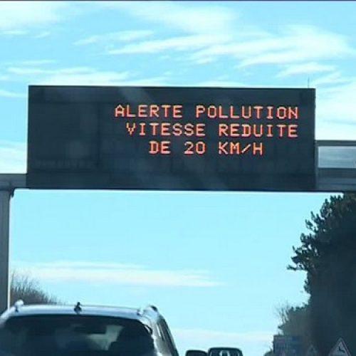 Pic de pollution atmosphérique : prolongation de l'arrêté