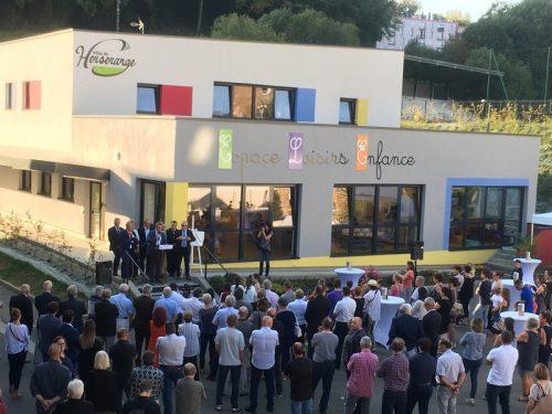 Inauguration de l'Espace Loisirs Enfance