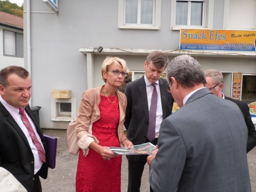 Rénovation urbaine : visite du quartier prioritaire Concorde