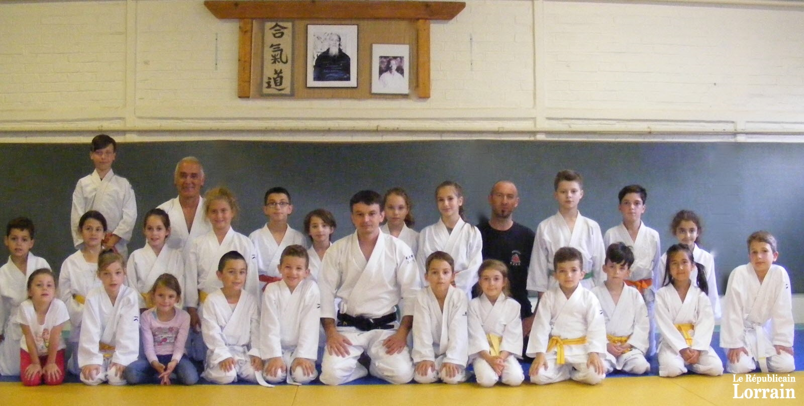 Herserange : l'aïkido, une discipline pour rester zen