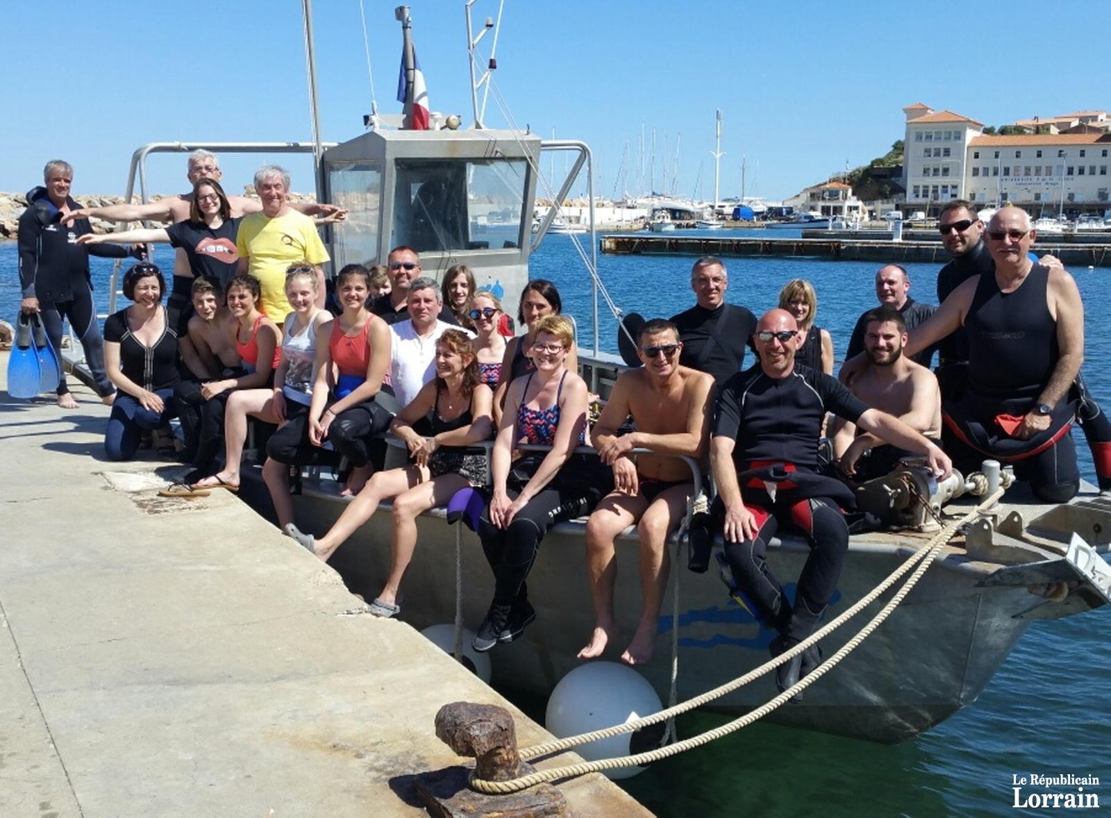 Les plongeurs aiment les sorties