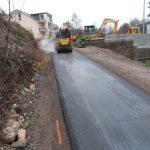 Travaux : rampe d'accès au chemin de mobilité douce