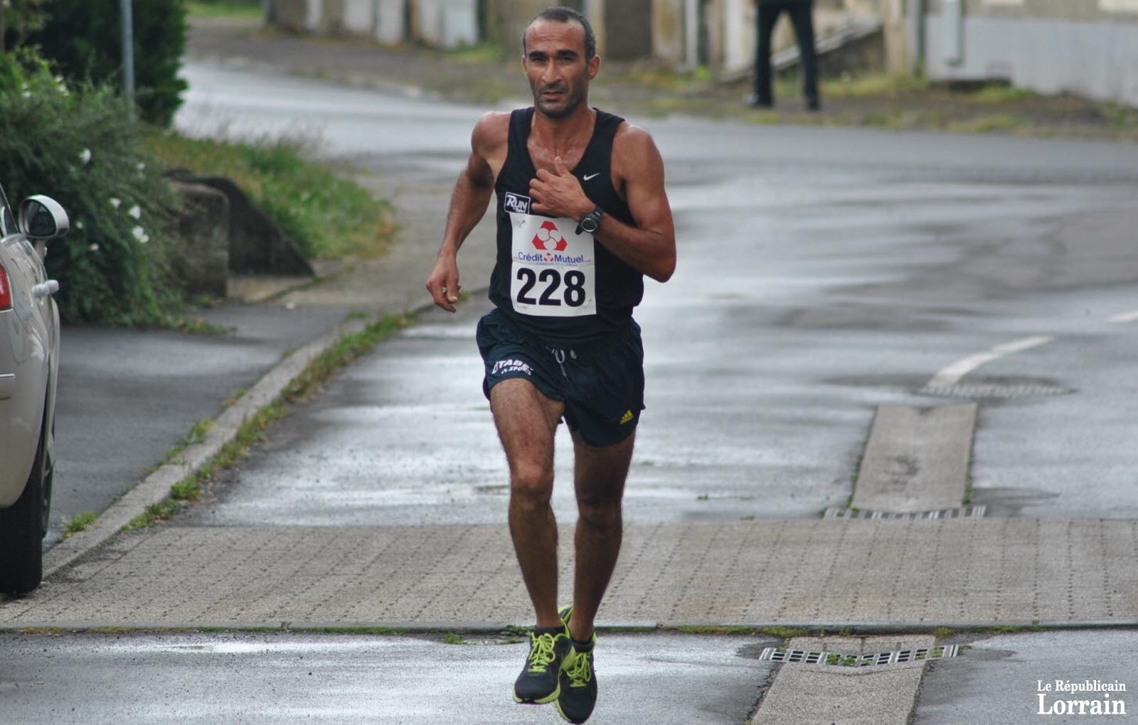 Course à pied : nouvelle victoire d'Omar Errachidi à Herserange