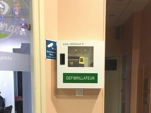 Un défibrillateur installé en mairie
