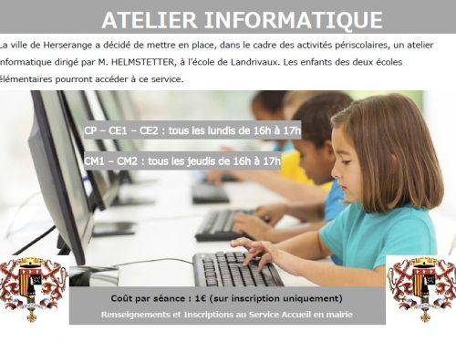 Atelier informatique (aide devoirs)