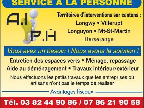 AIPH : Service à la personne
