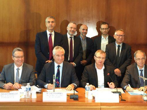 Signature du protocole de préfiguration du Nouveau Programme National de Rénovation Urbaine (ANRU)