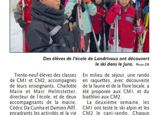 Ski et sorties pour les élèves de Landrivaux