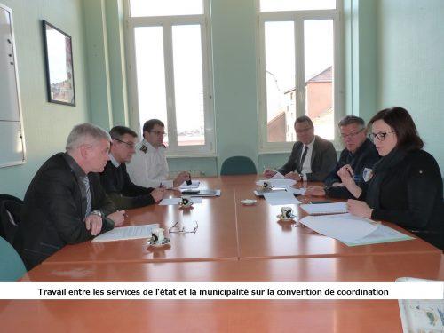 Convention de coordination entre la police municipale et les forces de sécurité de l'Etat