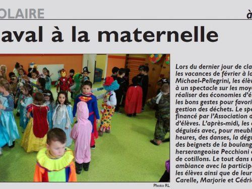 Carnaval à la maternelle