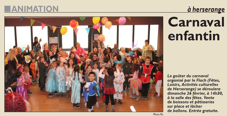 Carnaval enfantin