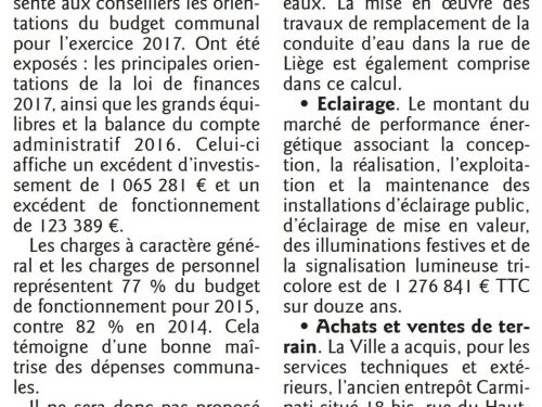 Budget : les taxes locales ne bougent toujours pas