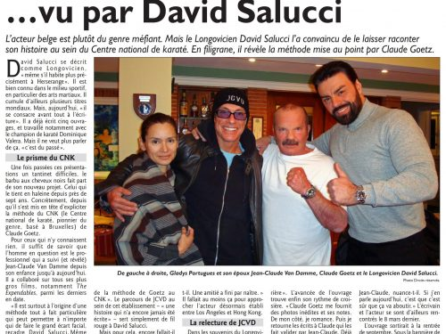 Il était une fois Van Damme… vu par David Salucci