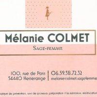 Ouverture du cabinet de Mélanie Colmet, sage-femme