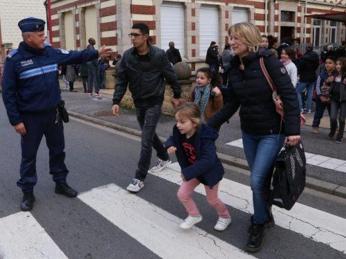 Herserange arme sa police municipale