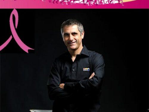 Laurent JALABERT Parrain du Parcours Rose