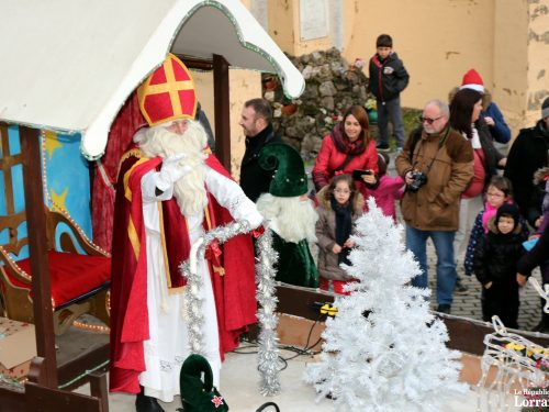 Saint Nicolas sera à Herserange et à Longwy dimanche