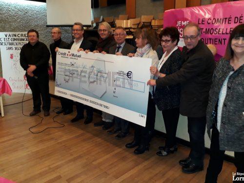 18 174€ pour l'opération Parcours Rose