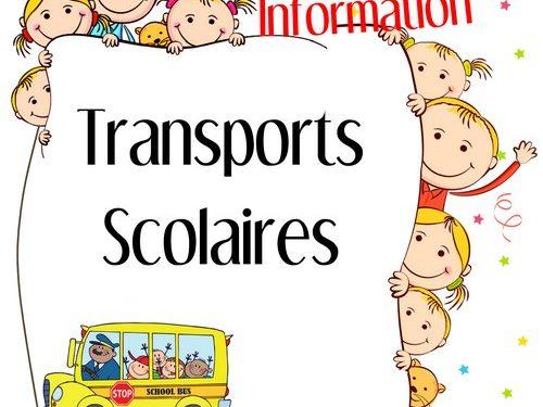 Annulation des Transports Scolaires