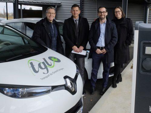 Deux voitures 100% électriques chez TGL