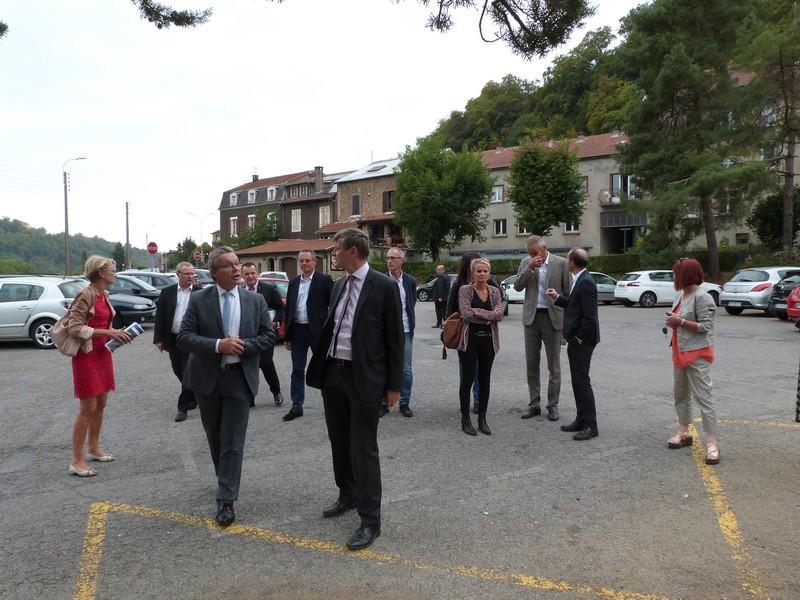 NPRU : Visite du Quartier Prioritaire Concorde