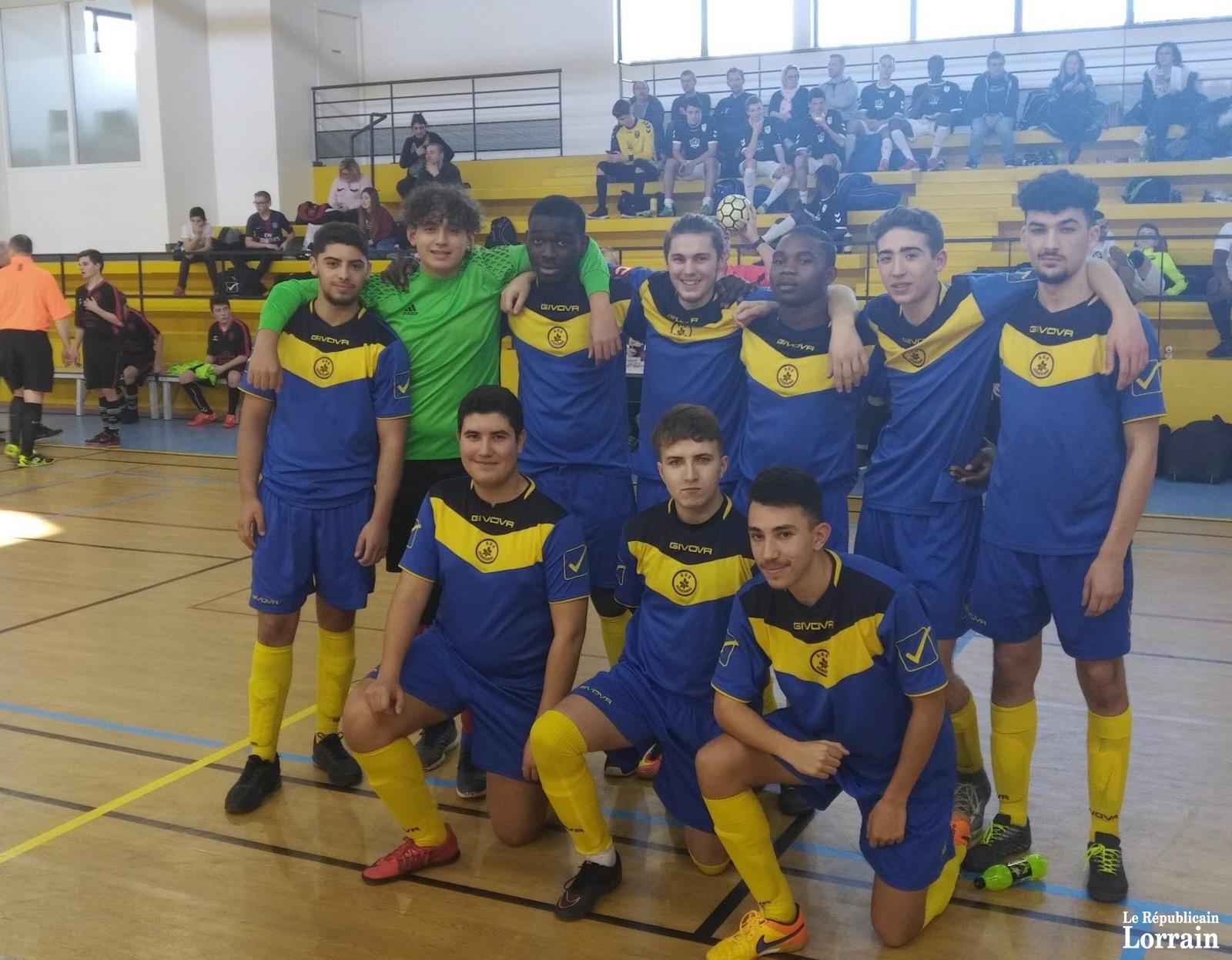 Futsal : le titre régional pour les U19