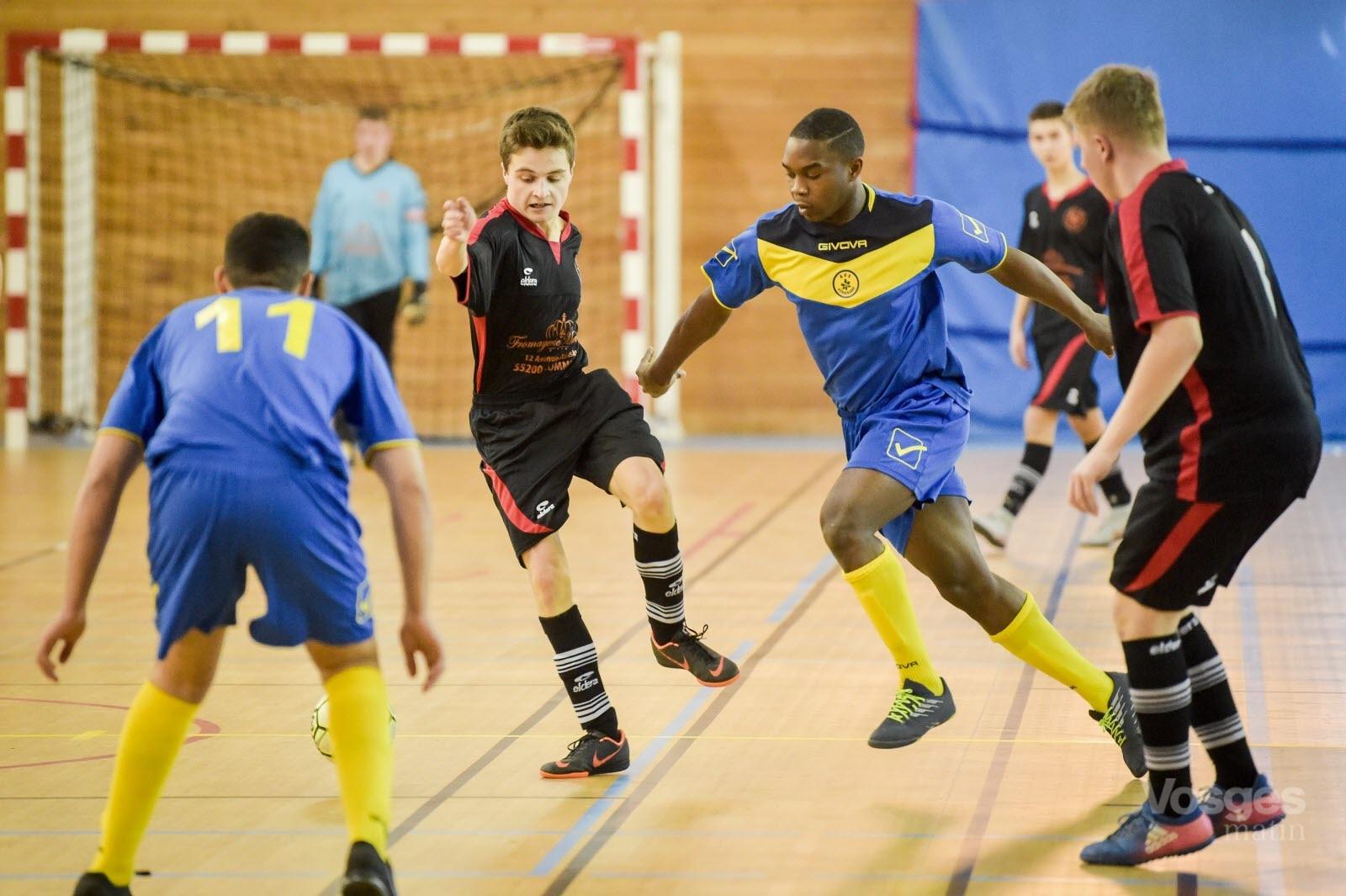 Finale régionale U19 Futsal : Herserange prive Epinal du titre régional U19