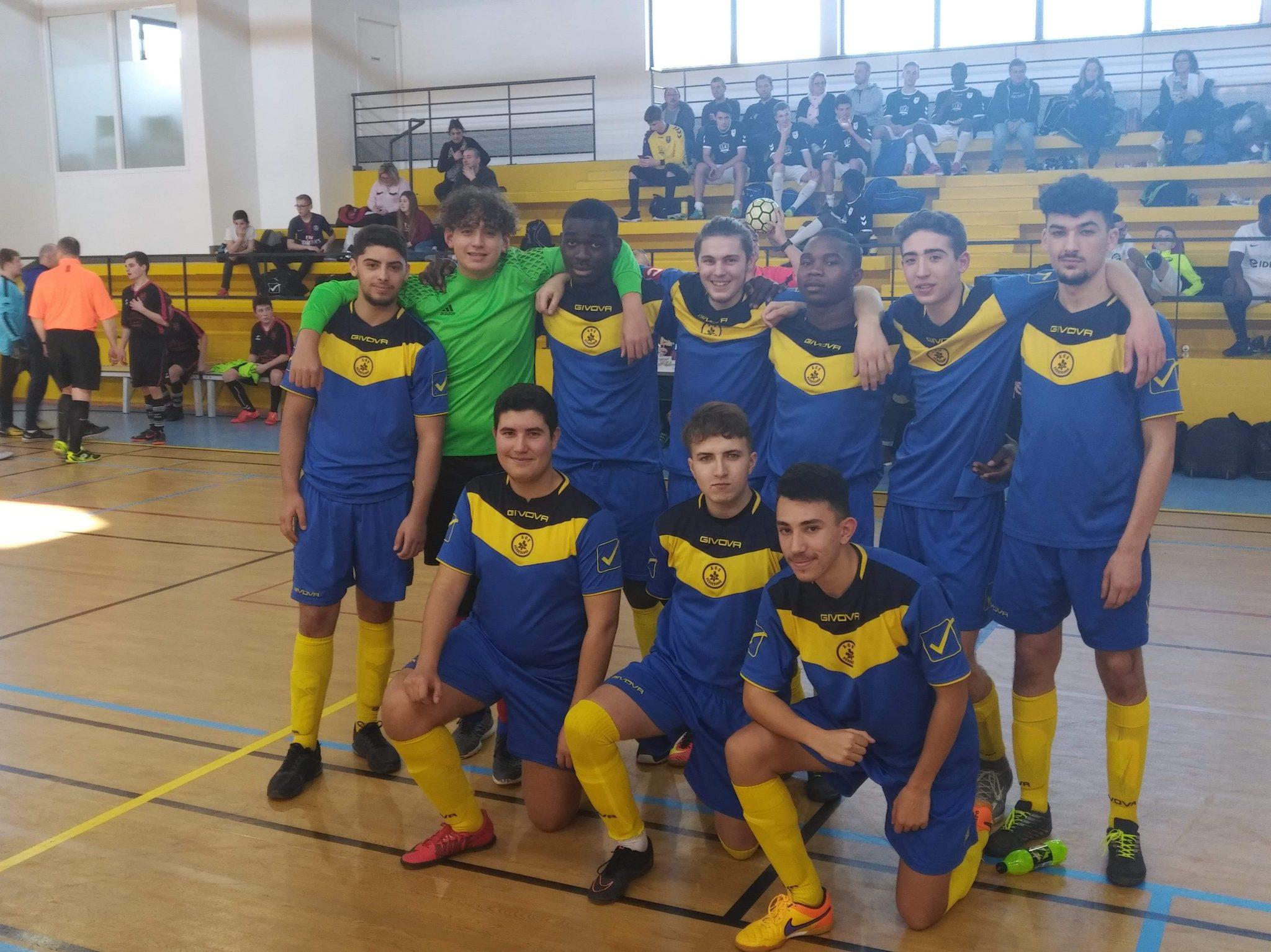 Futsal : L'équipe U19 championne de Lorraine
