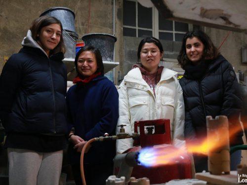 Herserange : Saint-Jean-L'Aigle forme des étudiantes en Conservation et restauration du patrimoine