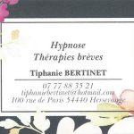 Ouverture du cabinet de Tiphanie Bertinet – Hypnose & Thérapies brèves