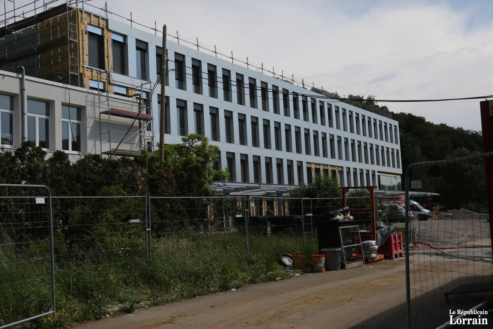 Le nouveau collège devrait être livré en juillet