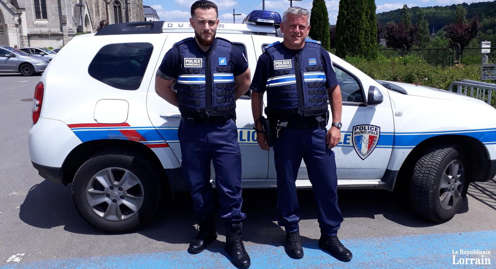Du renfort à la police municipale