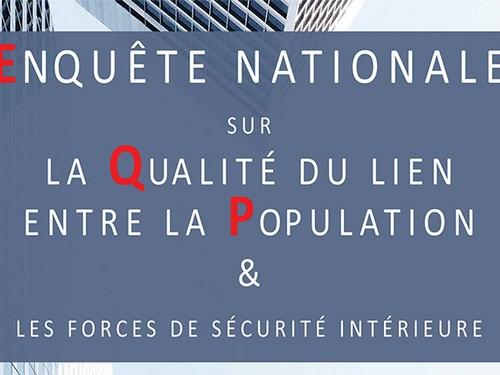 Enquête nationale sur les Forces de Sécurité Intérieure