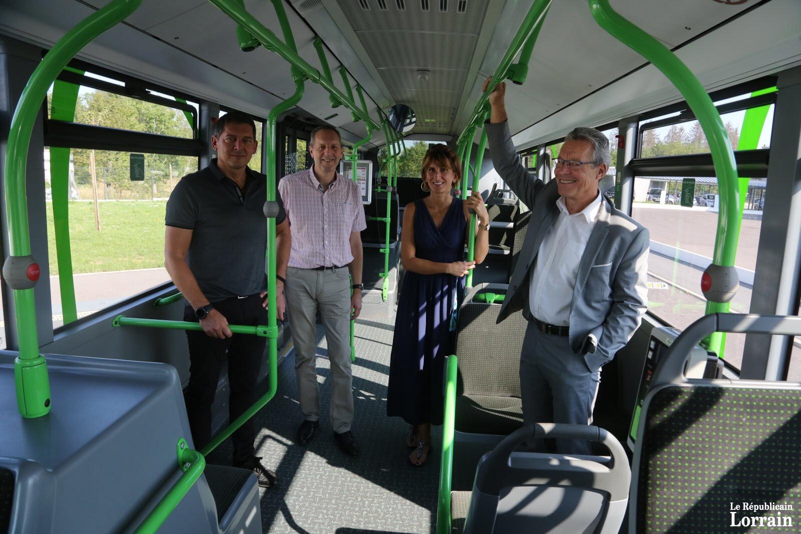 Transport du Grand Longwy paré pour la rentrée