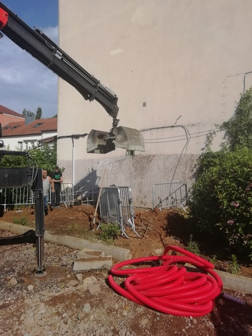 Travaux : installation d'un ascenseur à l'Hôtel de Ville