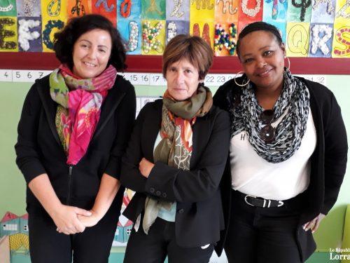 Trois nouvelles arrivées à l'école maternelle Michaël-Pellegrini